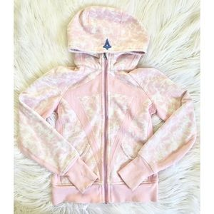 Ivivva Remix Hoodie Size 10 Pink White